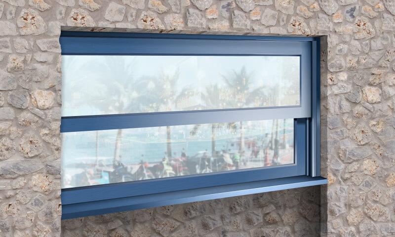 Ανασυρόμενο ξύλινο παράθυρο της Danelis